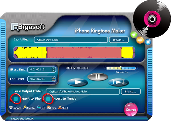 how to change longer ring tone iphone
