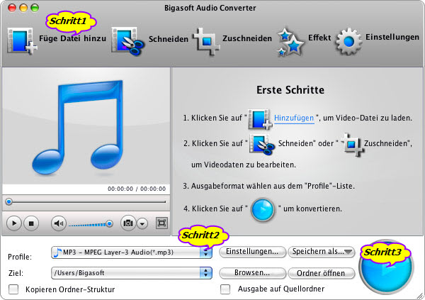 OGG in iTunes MP3 Konvertieren