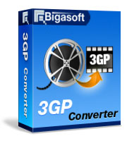 Bigasoft 3GP Converter Software Box