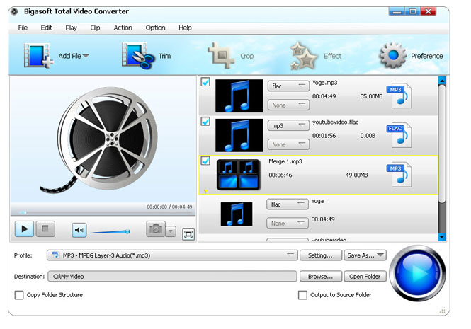 total video converter convert video from and to tivo h