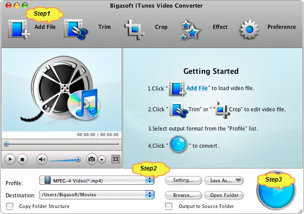 Fast Convert 1080p MKV, AVI, Xvid, Divx, MP4, FLV, WMV, and MPEG to Apple TV/Apple TV 2/Apple TV 3