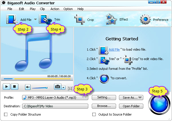 What software converts, to and from, the most file types, preferably audio files?