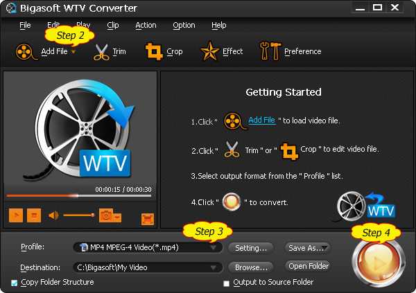 DVR Converter - Convert DVR to AVI, MPEG, MP4, WMV on