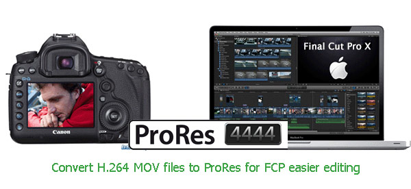Convert Video to ProRes 4444