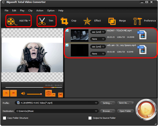 Trim video within seconds - How to cut video fast without reconverting