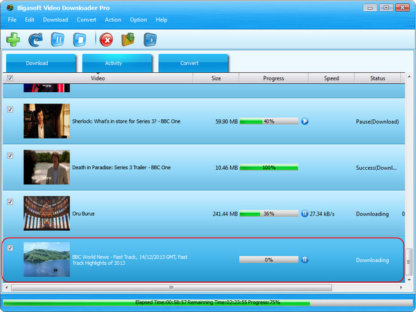 BBC video downloader