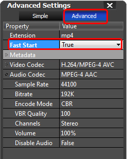 Fast Start MP4 for Streaming