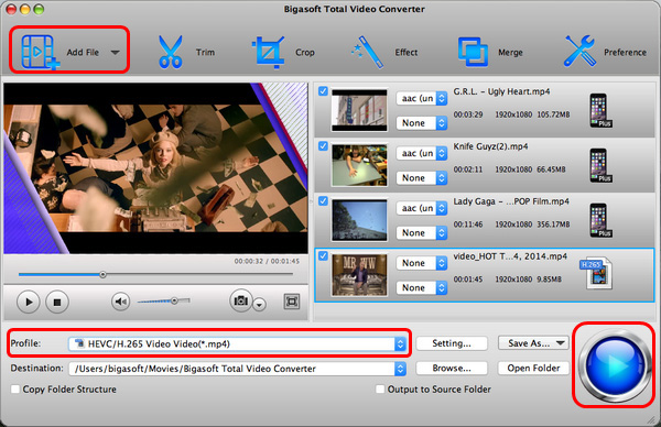 Total Video Converter - How to convert Sony AVCHD on Mac and