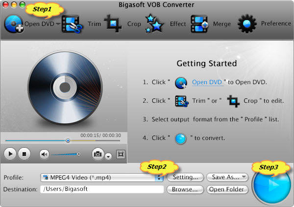 How to to Airplay DVD movies to Apple TV/Apple TV 2/Apple TV 3