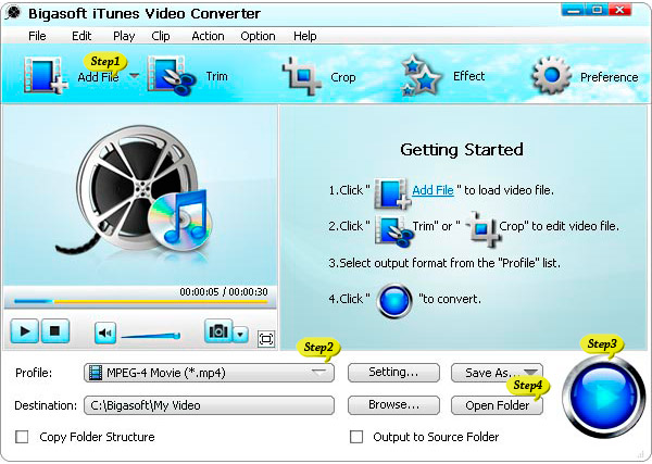 How to Convert and Import WMV to iTunes