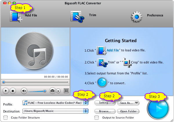 How to Convert FLAC on Mac with Mac FLAC to MP3 Converter?