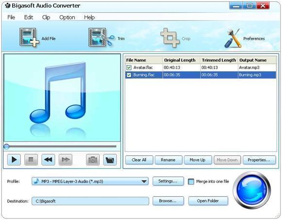 Bigasoft Audio Converter 3.4.14.4261 Multilanguage