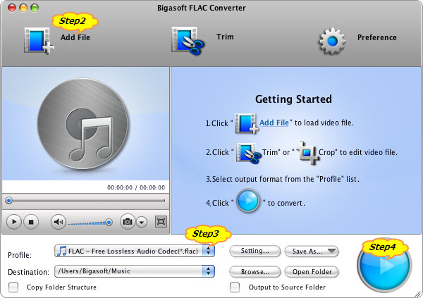 Step by step guide on how to convert FLAC to MP3 on Mac or Windows