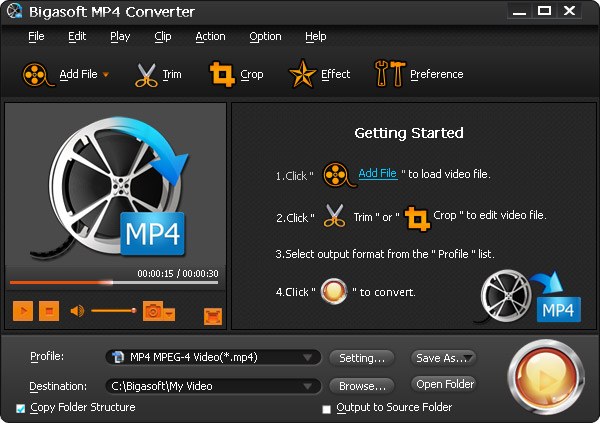 OGM to MP4 Converter