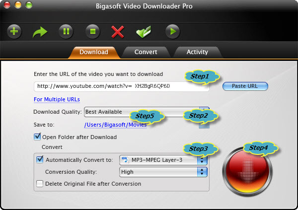 how to download, convert and transfer YouTube to iTunes