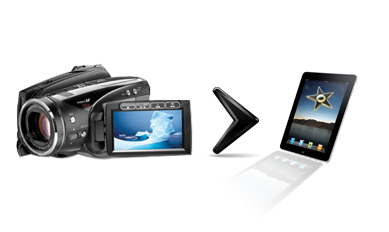 Import Video from Camcorder to iMovie for iPad 2, iPhone 4 and iPod Touch