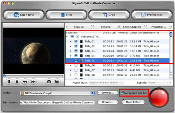 DVD to iMovie, convert DVD to iMovie