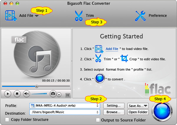 Steps adding FLAC to iTunes