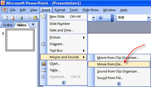 How to Convert, Insert and Embed Video in PowerPoint Presentation
