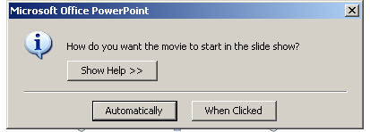 How to insert MKV/FLV/MP4 to PowerPoint 2003