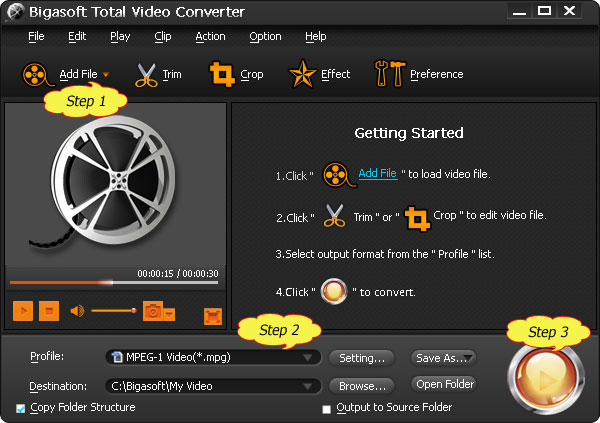 Convert MP4 to PowerPoint Supported Video Format for Easy Play MP4 in PowerPoint