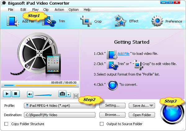Convert Movies to iPad mini Format to Solve