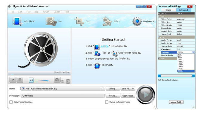 How to Convert MOD to AVI, MP4, MOV, MPG, FLV, MKV, DV, and WMV on Windows and Mac?