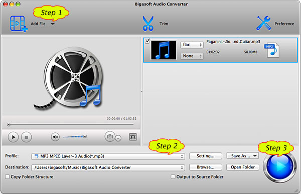 Step by Step Guide on How to Convert Ogg to MP3 so as to Play Ogg in iTunes/iPod/iPhone/iPad Successfully.