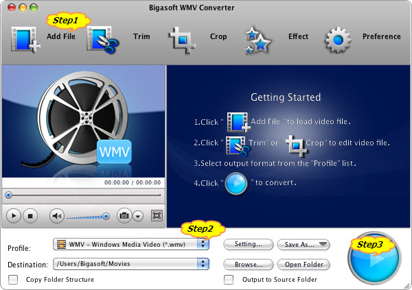 How to Convert QuickTime to WMV with this QuickTime to WMV Converter