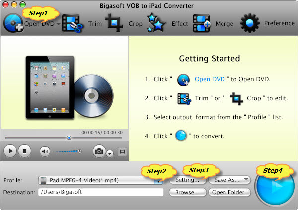Guide on How to Rip and Convert DVD to iPad 2/iPad mini/iPad 4/iPad 3