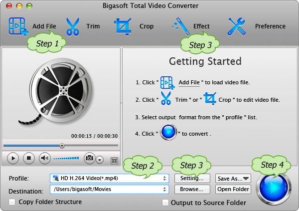How to Convert SWF to MP4, MP3, MOV, WAV, AVI, FLV, and MPEG on Mac and PC?