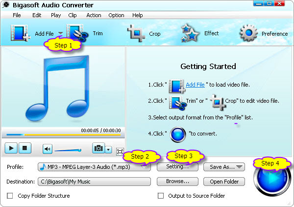 WV Converter - Convert WV Files to MP3, WAV, FLAC, M4A