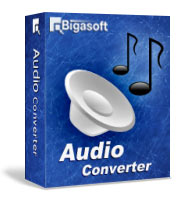 Bigasoft Audio Converter Software Box