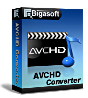 Bigasoft AVCHD Converter Software Box