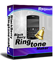 Create unique ringtone for BlackBerry from your music library to show your great taste - Bigasoft BlackBerry Ringtone Maker