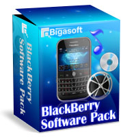 Bigasoft BlackBerry Software Pack Software Box