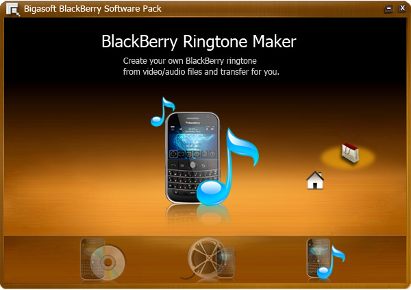 Screenshot of Bigasoft BlackBerry Software Pack