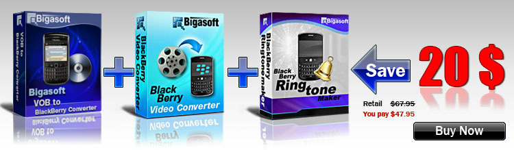 Save Big on Bigasoft BlackBerry Software Pack