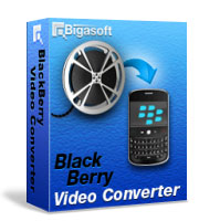 Bigasoft BlackBerry Video Converter Software Box