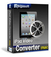 Unlimited High-resolution Movies on Large Display - Bigasoft iPad Video Converter for Mac