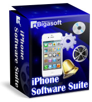 Bigasoft iPhone Software Suite Software Box