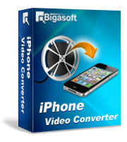 Bigasoft iPhone Video Converter Software Box