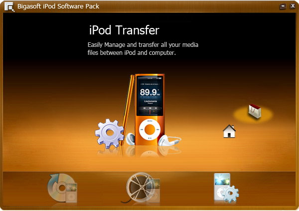 Screenshot of Bigasoft iPod Software Pack