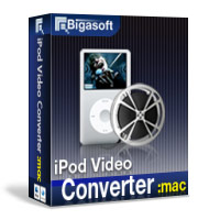 Unlimited enjoyment with you. - Bigasoft iPod Video Converter for Mac
