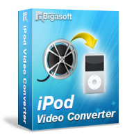 iPod movie fans rejoice on the go - Bigasoft iPod Video Converter