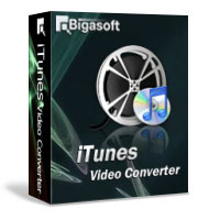 Bigasoft iTunes Video Converter Software Box