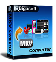 Bigasoft MKV Converter Software Box