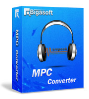 Bigasoft MPC Converter Software Box