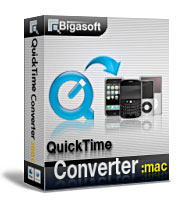 One of the most comprehensive QuickTime Movie Converter designed for Mac users. - Bigasoft QuickTime Converter for Mac
