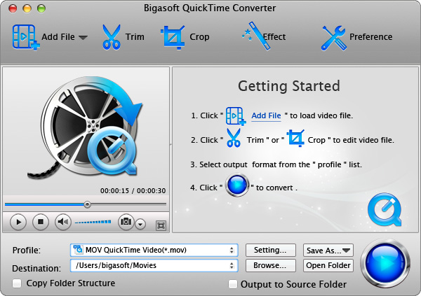 AVI to QuickTime Converter